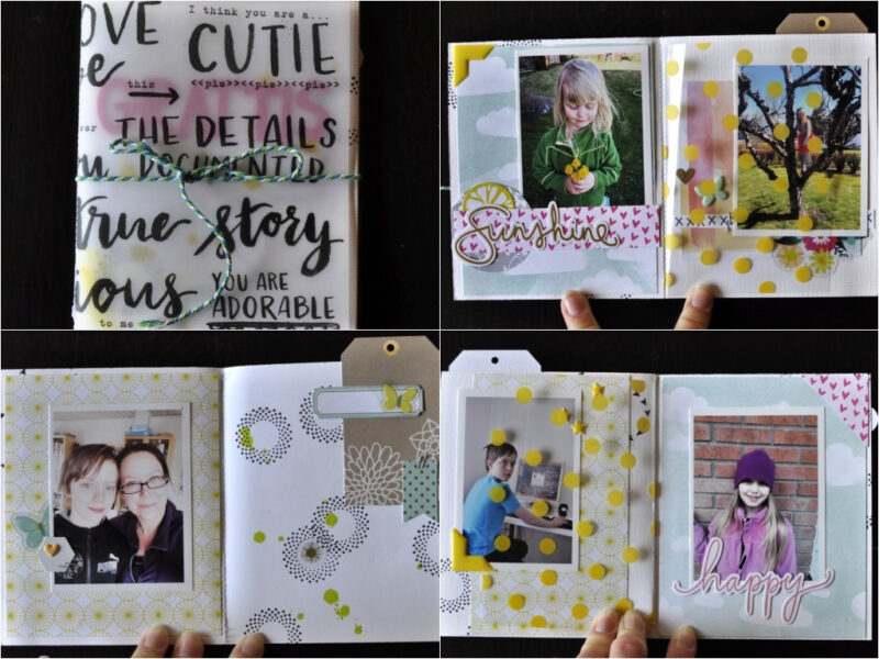 Anna April Mini Books.