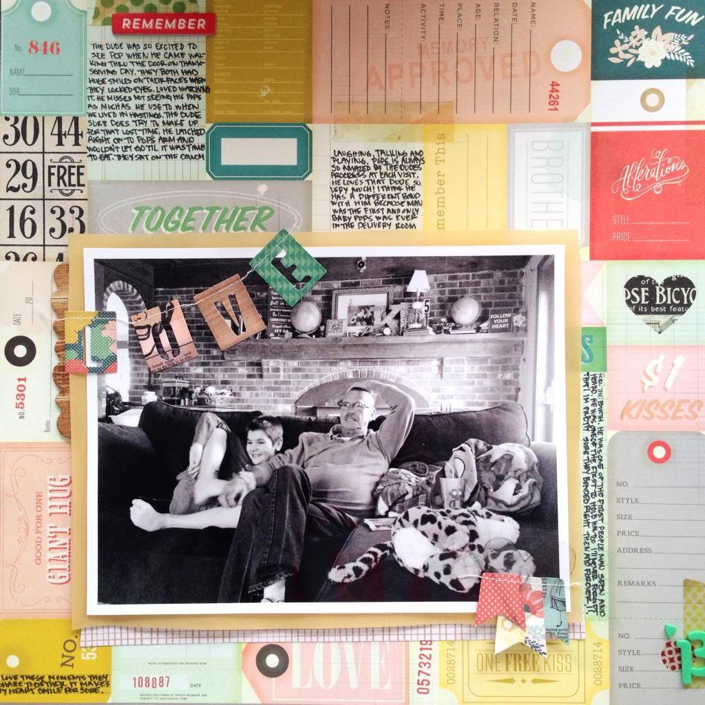 Mandy Koeppen's Layout: Love