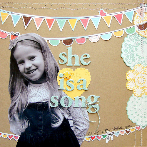 she is a song