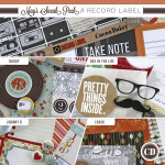 Introducing the May kit: Record Label