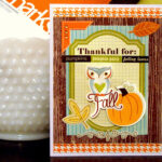October Card Making Challenge