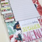 Keeping Organised – Weekly Meal Planner