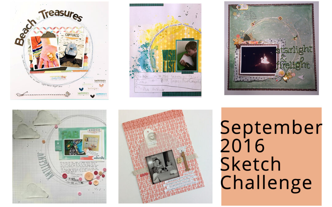 Going in Circles – September Sketch Winner