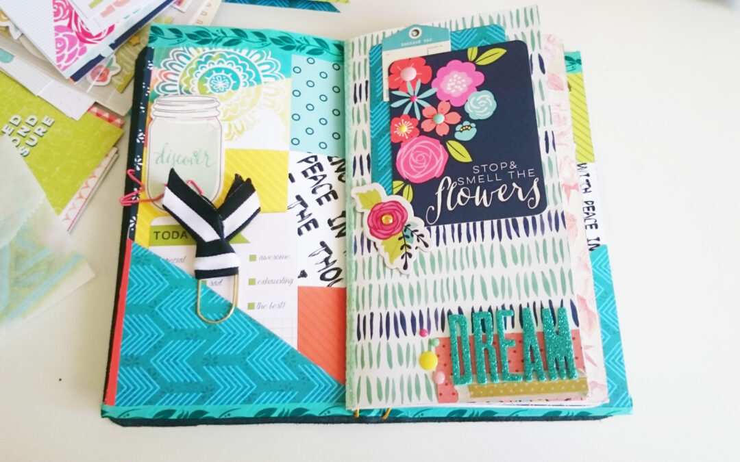Planner time: How to make your oiwn Traveller´s Notebook pocket