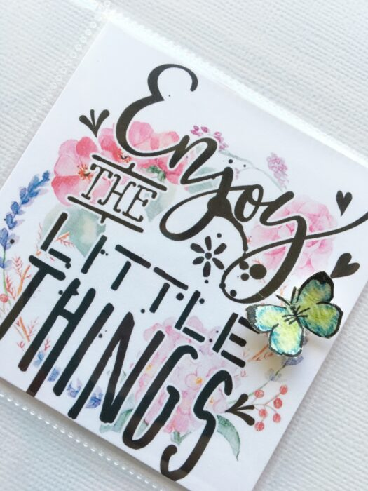Enjoy The Little Things %7C DITL card