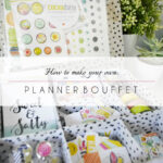 Make your own PLANNER BOUFFET (or organzier)