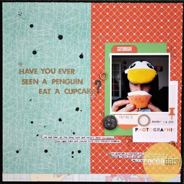 Have You Ever Seen A Penguin Eat A Cupcake