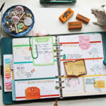 Color Coding your planner with stamps