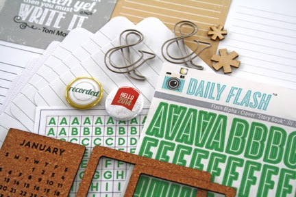 January's Day in the Life kit for Project Life-style scrapbooking