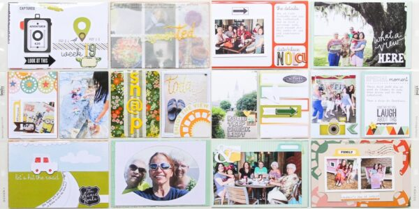 July 2014 Kit Viewfinder - Project Life2C Week 19