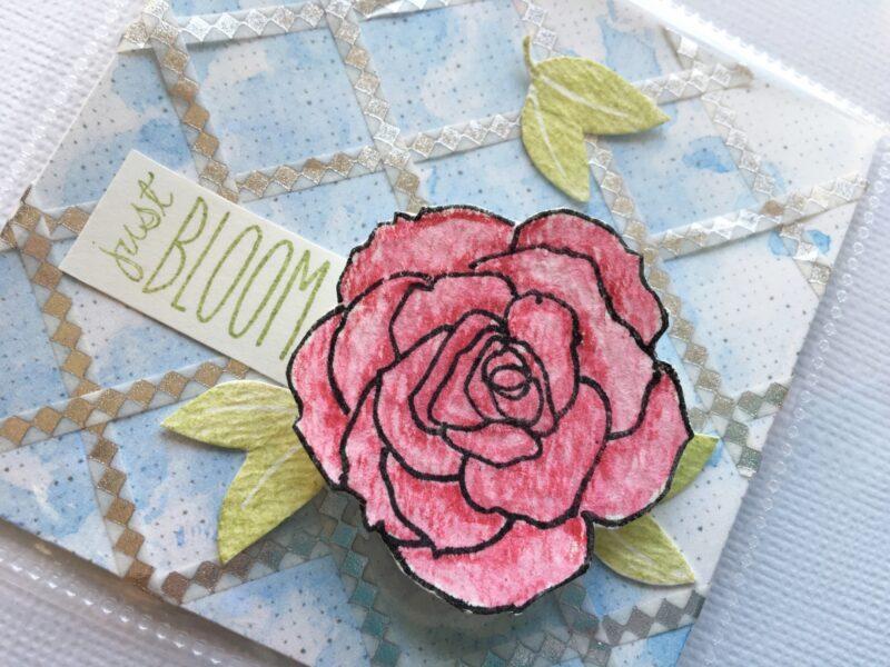 Just Bloom %7C DITL card