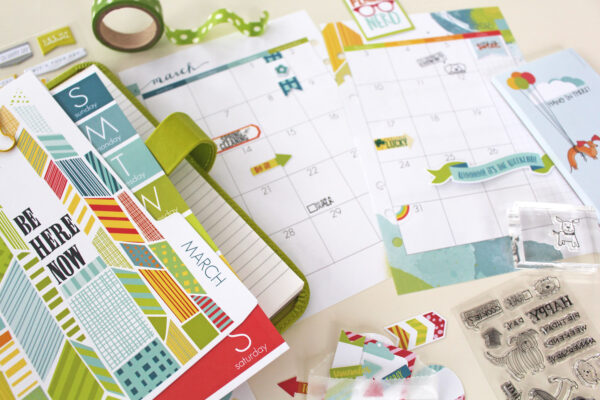 March 2016 planner reveal sneak close up