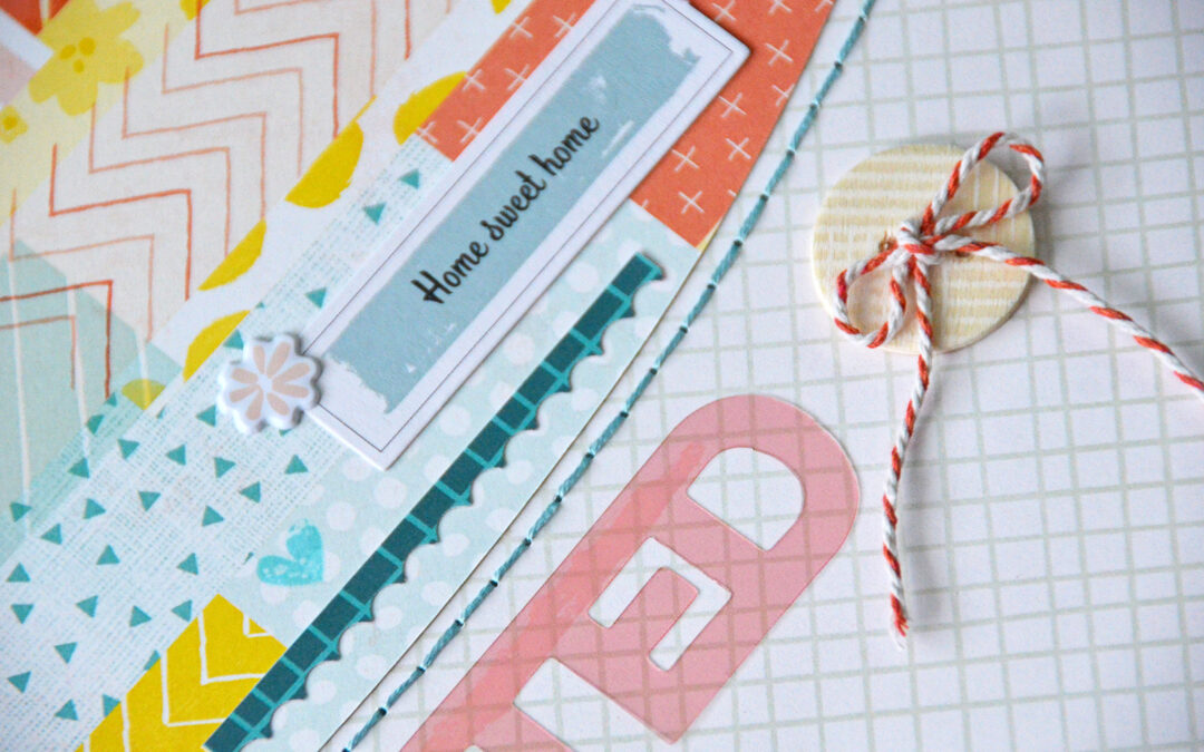 Designers Challenge June : Stitch It Up