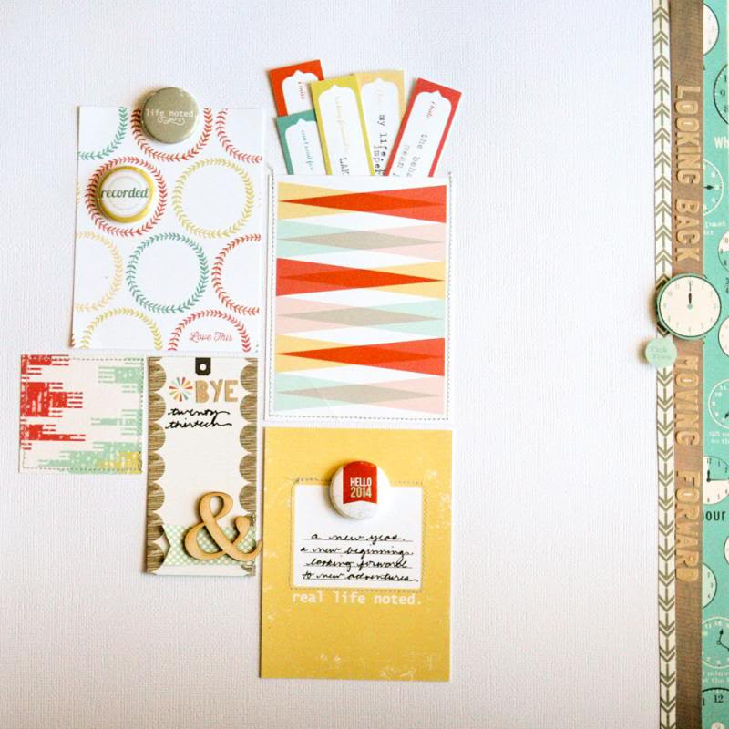 Suz Mannecke's Layout, Looking Back, Moving Forward