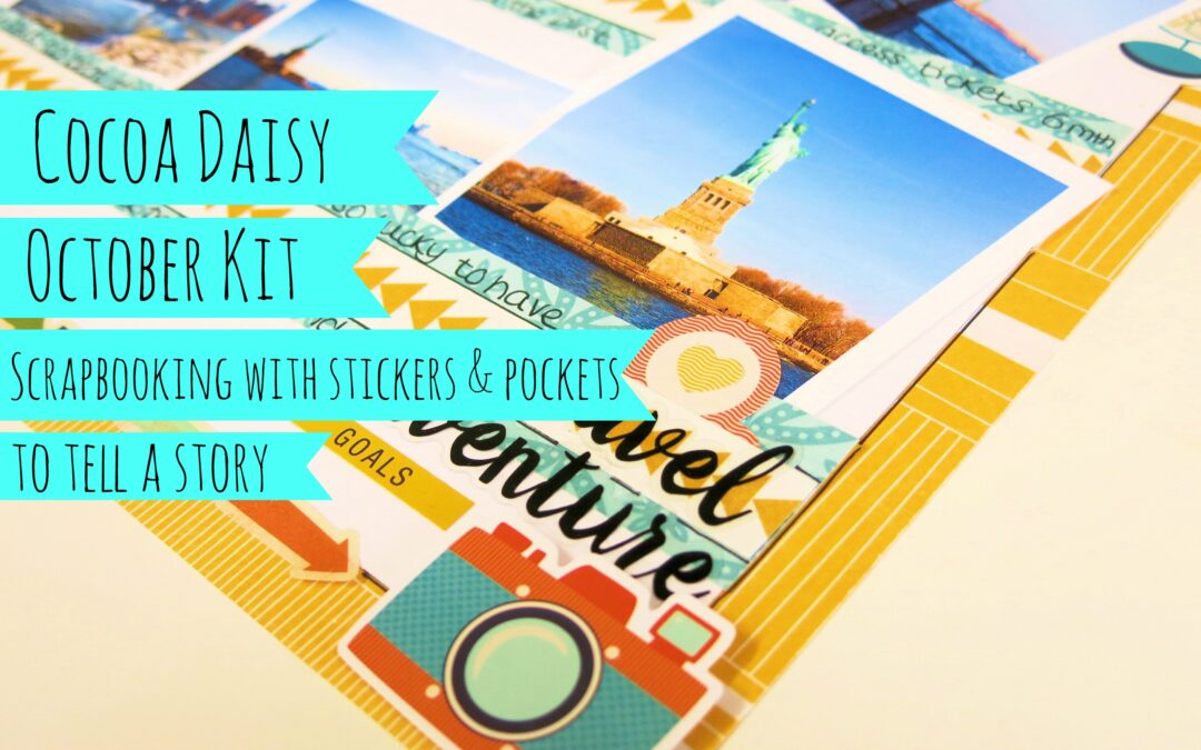 Having fun with Stickers & Pockets – Video Link Included
