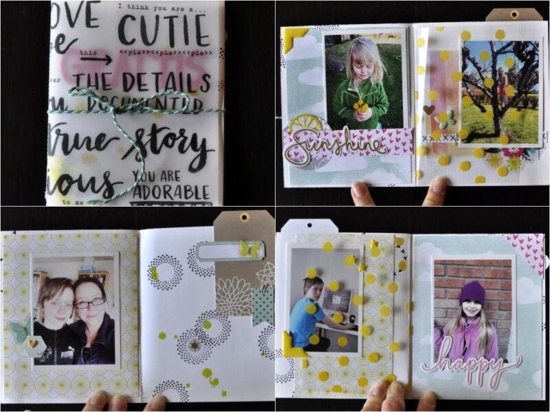 Anna April Mini Books.