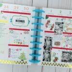 December Memory Planner