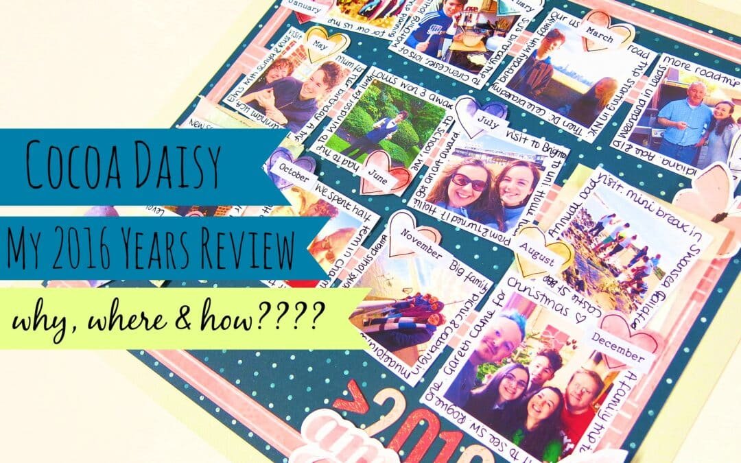 Farewell to 2016 – A Years Review…Why, Where & How – Video Link included