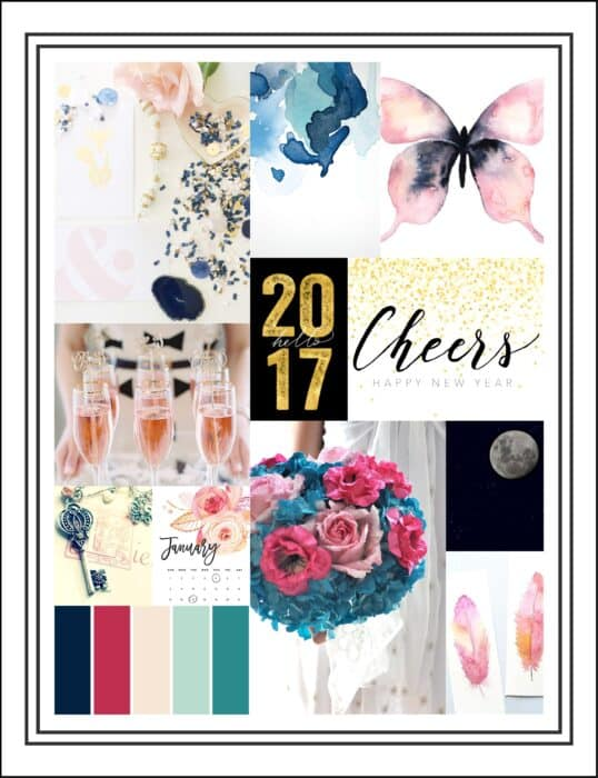 Color Combo by Janet Perafan-Babar | Cocoa Daisy JANUARY 2017 Designer's Challenge
