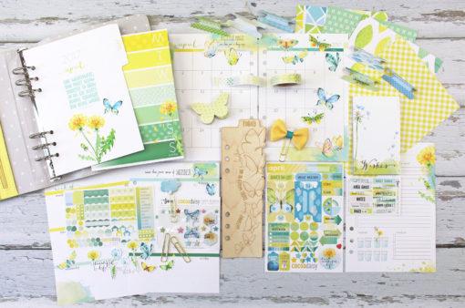 April planner A5 lighter