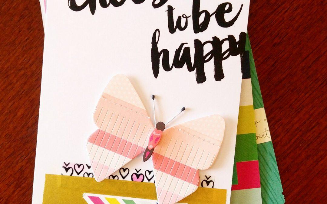 Mini Album fun / Choose to be happy