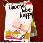 Mini Album fun / Choose to be happy
