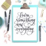 Always wanted to try Hand Lettering? Here's a 10% OFF deal!