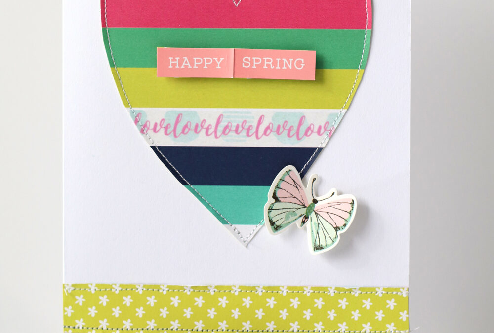 March Flutterby Cards, Toadily Adorable!