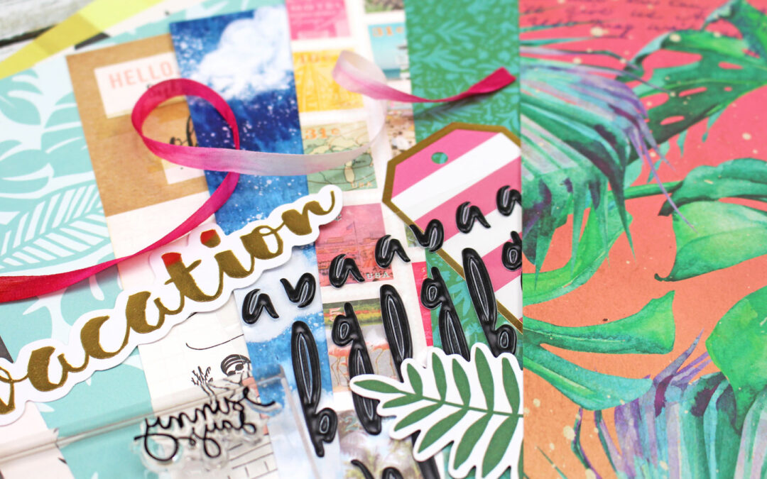 Have you seen the sneaks for May scrapbooking and June planning?