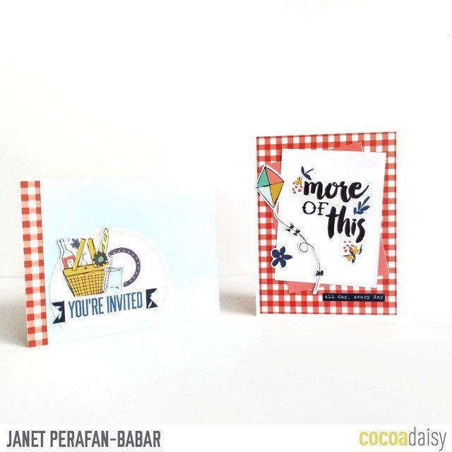 Janet Perafan-Babar | Cocoa Daisy July 2017 DITL Card
