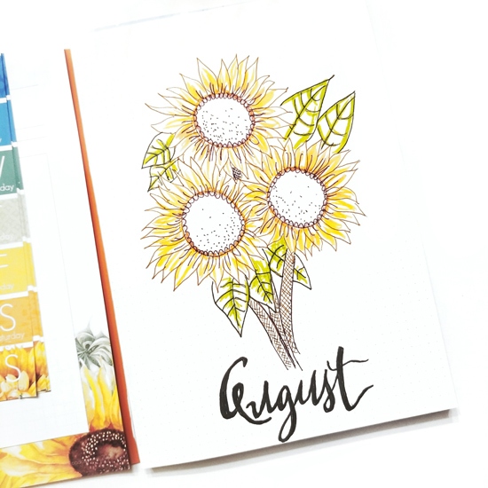 Janet Perafan-Babar | Cocoa Daisy August Planner Challenge