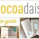 Daisy Dori Size Guide