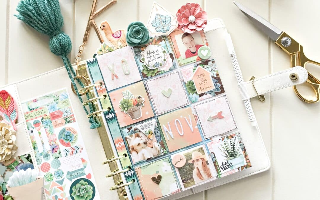 Pocket Pages with Planning.~ A guide with Kylie.