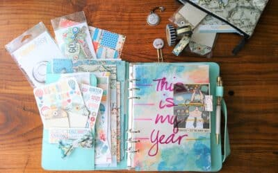 January 2018 Planner Set up. Includes video. Merry Christmas!!