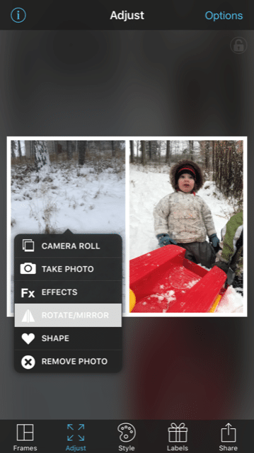 Photo collages . tutorial