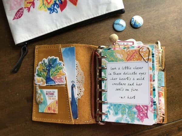 using the mini daisy dori in your pocket ring planner cocoa daisy
