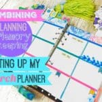 Combining Planning & Memory Keeping