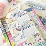 Creating with the decorative planner stickers.Video included.