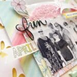 April Creativity with the Pocket Memory Keeping kit.