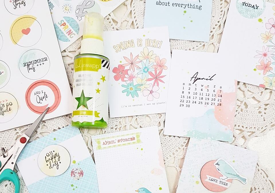 May Pocket Pages Inspiration!