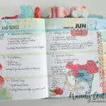 Memory Keeper turned planner; How to combine the loves.