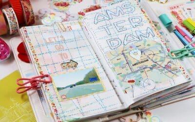 Travel Journal In Standard Daisy Dori + Video.