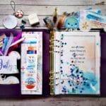 My July Setup – a5 planner and b6 dori –