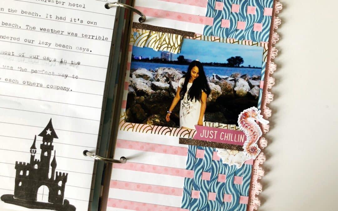 July Simple Dori: Mini Album of Our Mini Vacation