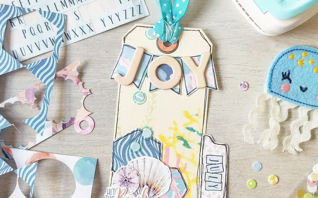 Scraps N Such using the Cocoa Daisy July Planner kits