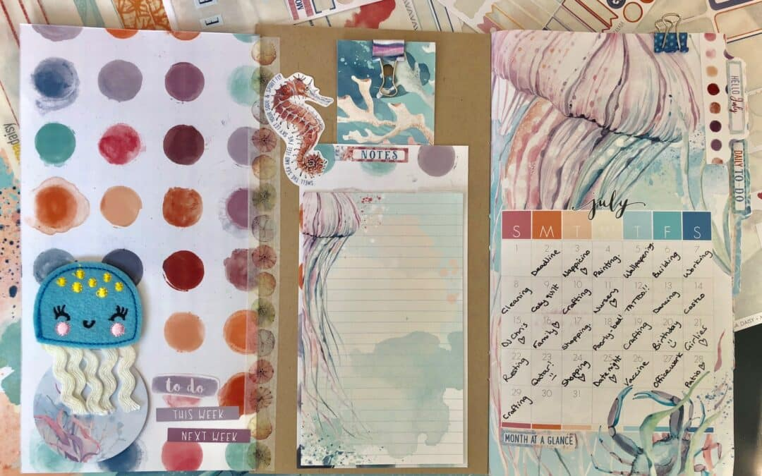July 2018 Planner Guest Designer | Samantha Shepherd
