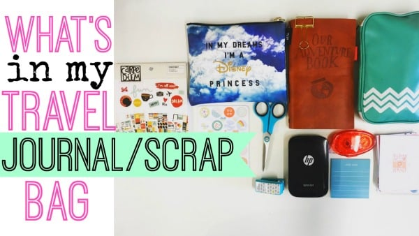 Journaling/Scrapbooking On The Go – What To Take??