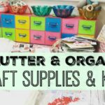 Time To Declutter & Organise My Kits – with video
