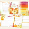 October 2018 A5 Planner Pages Only (Pumpkin Spice)