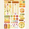 October 2018 Planner Stickers (Pumpkin Spice)
